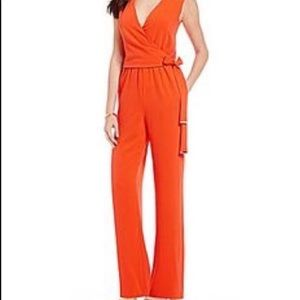 Antonio Melani Sleeveless Wrap Jumpsuit Size 10